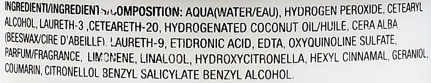 Окисляющая эмульсия 40vol 12% - H.Zone Oxydant — фото N3