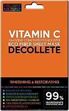 Духи, Парфюмерия, косметика Экспресс-маска для зоны декольте - Beauty Face IST Whitening & Restorating Decolette Mask Vitamin C