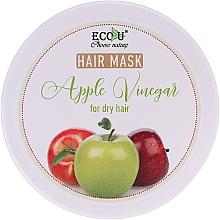 "Духи, Парфюмерия, косметика Маска для сухих волос ""Яблочный уксус"" - ECO U Apple Vinegar Hair Mask For Dry Hair"