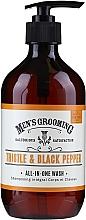 Духи, Парфюмерия, косметика Гель для душа - Scottish Fine Soaps Men's Grooming Thistle & Black Pepper All-In-One Wash