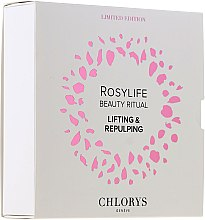 Духи, Парфюмерия, косметика Набор - Chlorys Rosylife Beauty Ritual (n/cream/10ml+d/cream/12ml+serum/10ml)