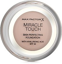 Духи, Парфюмерия, косметика Тональная основа - Max Factor Miracle Touch SPF30