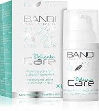 Духи, Парфюмерия, косметика Увлажняющий крем для лица с морскими водоростями - Bandi Professional Delicate Care Moisturizing Cream
