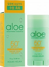 Духи, Парфюмерия, косметика Солнцезащитный стик - Holika Holika Aloe Soothing Essence Water Drop Sun Stick SPF50+