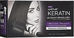 Духи, Парфюмерия, косметика Набор - Kativa Keratin (shm/35ml + cond/35ml + mask/100ml)
