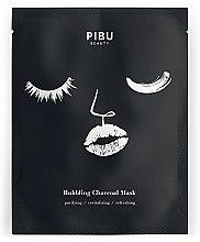 Духи, Парфюмерия, косметика Пузырящаяся угольная маска для лица - Pibu Beauty Bubbling Charcoal Mask