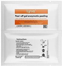 Духи, Парфюмерия, косметика Маска для лица, энзимная - Lynia Peel Off Gel Enzymatic Peeling