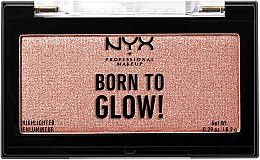 Духи, Парфюмерия, косметика Хайлайтер для лица - NYX Professional Makeup Born To Glow Highlighter