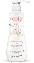 Духи, Парфюмерия, косметика Гель-шампунь для детей с календулой и пантенолом - Roofa Calendula & Panthenol Gel-Shampoo