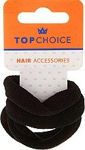 Духи, Парфюмерия, косметика Резинки для волос 4 шт, черные - Top Choice