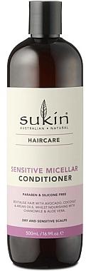 Мицеллярный кондиционер для чувствительной кожи головы - Sukin Sensitive Micellar Conditioner — фото N1
