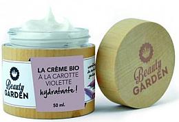 Духи, Парфюмерия, косметика Увлажняющий крем для лица с фиолетовой морковью - Beauty Garden Violet Carrot Face Cream