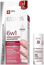 Духи, Парфюмерия, косметика Укрепляющий лак для ногтей 6в1 - Eveline Cosmetics Nail Therapy Professional