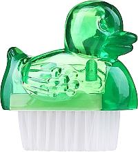 Духи, Парфюмерия, косметика Щеточка для маникюра, 3467, зеленая - Deni Carte Duck's Brush