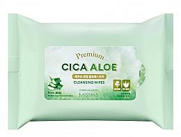 Духи, Парфюмерия, косметика Очищающие салфетки - Premium Cica Aloe Cleansing Wipes