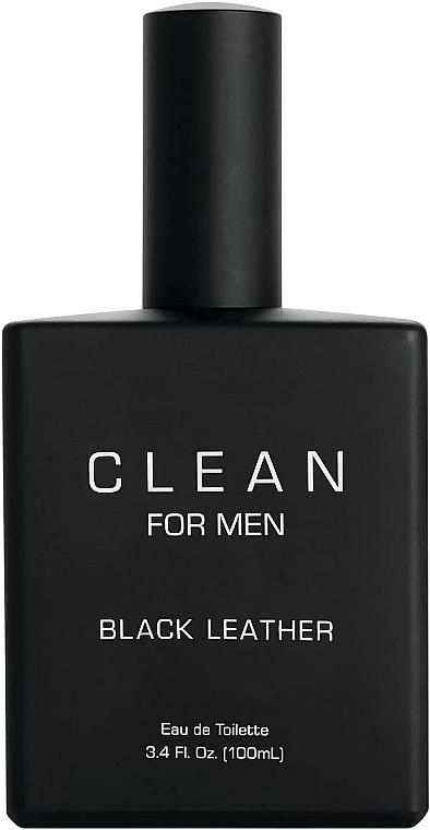 Набор - Clean Black Leather Men (edt/100ml + deo/75ml) — фото N5