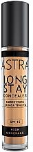 Духи, Парфюмерия, косметика Стойкий кремовый консилер - Astra Make-Up Long Stay Concealer SPF15