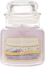 Духи, Парфюмерия, косметика Ароматическая свеча - Yankee Candle Honey Lavender Gelato