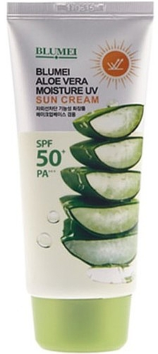 Крем для лица и тела - Blumei Jeju Moisture Aloe Vera Sun Cream — фото N1