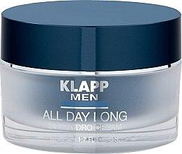 Духи, Парфюмерия, косметика Гидрокрем для лица, 24 часа - Klapp Men All Day Long 24h Hydro Cream