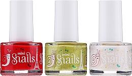 Духи, Парфюмерия, косметика Набор лаков для ногтей - Snails Festive Mini