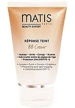 Духи, Парфюмерия, косметика Тональный BB крем для кожи с оттенком легкого загара SPF 15 - Matis BB Cream Reponse Teint SPF 15