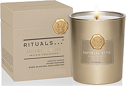 Духи, Парфюмерия, косметика Ароматическая свеча - Rituals Private Collection Imperial Rose Scented Candle