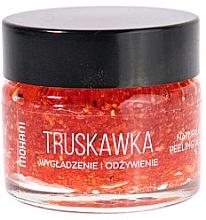 Духи, Парфюмерия, косметика Скраб для губ - Mohani Strawberry Smoothing And Nouriahing Lip Scrub