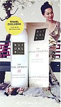 Духи, Парфюмерия, косметика Набор с экстрактом цветов сакуры и рисового молочка - Rituals Cosmetics Mini Sakura Set (b/cr/70ml + sh/gel/50ml)