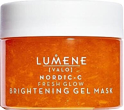 Духи, Парфюмерия, косметика Осветляющая гелева маска для лица - Lumene Valo Nordic-C Fresh Glow Brightening Gel Mask