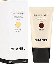 Духи, Парфюмерия, косметика Средство для автозагара - Chanel Soleil Identite SPF 8 Dore Golden