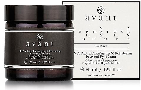 Крем для лица и глаз - Avant R.N.A Radical Anti-Ageing and Retexturing Face and Eye Cream — фото N1