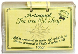 Духи, Парфюмерия, косметика Натуральное мыло с маслом чайного дерева - Arganour Natural Soap with Tea Tree Oil