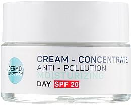 Духи, Парфюмерия, косметика Дневной крем для лица - Vollare Multi-Active Detox C+E Cream-Concentrate