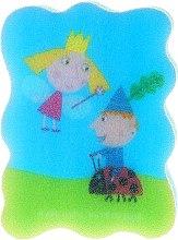 "Духи, Парфюмерия, косметика Мочалка детская ""Бен и Холли"", голубая - Suavipiel Ben & Holly"
