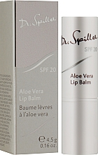 Духи, Парфюмерия, косметика Бальзам для губ с Алоэ Вера - Dr. Spiller Aloe Vera Lip Balm