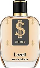 Духи, Парфюмерия, косметика Lazell $ For Men - Туалетная вода