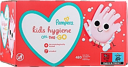 Духи, Парфюмерия, косметика Детские влажные салфетки, 12х40 шт - Pampers Kids On The Go