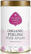 Духи, Парфюмерия, косметика Органический скраб для тела - Eliah Sahil Organic Peeling Rose Argan
