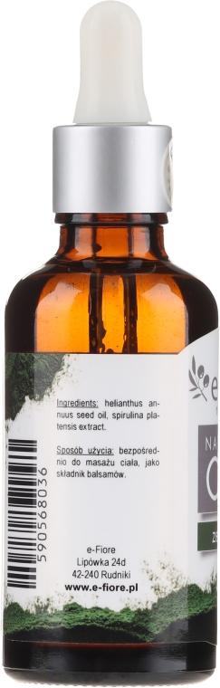 Масло спирулины - E-Flore Natural Oil — фото N2