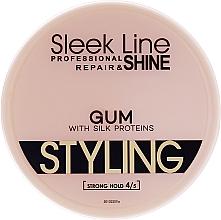 Духи, Парфюмерия, косметика Гель для волос - Stapiz Sleek Line Styling Gum With Silk