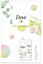 Духи, Парфюмерия, косметика Набор - Dove Revitalising Gift Set (sh/gel/250ml + antiperspirant/150ml)