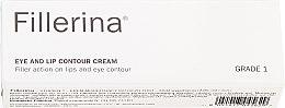 Духи, Парфюмерия, косметика Крем для контура глаз и губ, уровень 1 - Fillerina Eye And Lip Contour Cream Grade 1