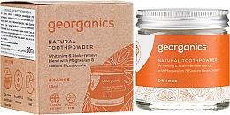 Духи, Парфюмерия, косметика Натуральный зубной порошок - Georganics Red Mandarin Natural Toothpowder