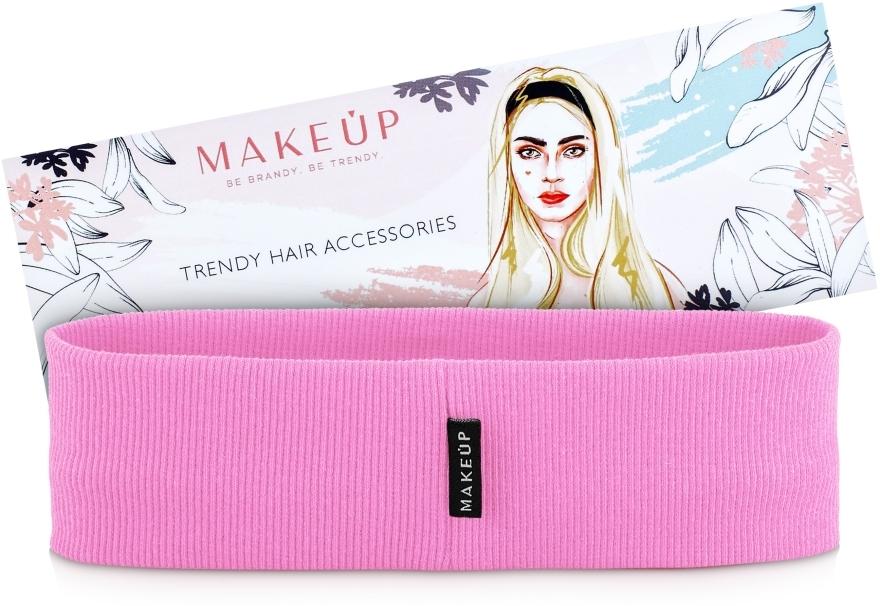 "Повязка на голову, розовая ""Be Beauty"" - MakeUp — фото N1"