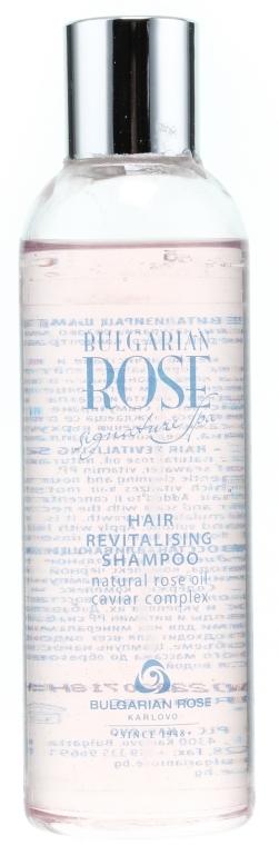 Восстанавливающий шампунь - Bulgarian Rose Signature Spa Hair Revitalizing Shampoo — фото N1