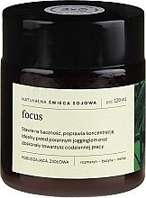 Духи, Парфюмерия, косметика Натуральная соевая свеча с травяным ароматом - Mood Ideas Focus Candle