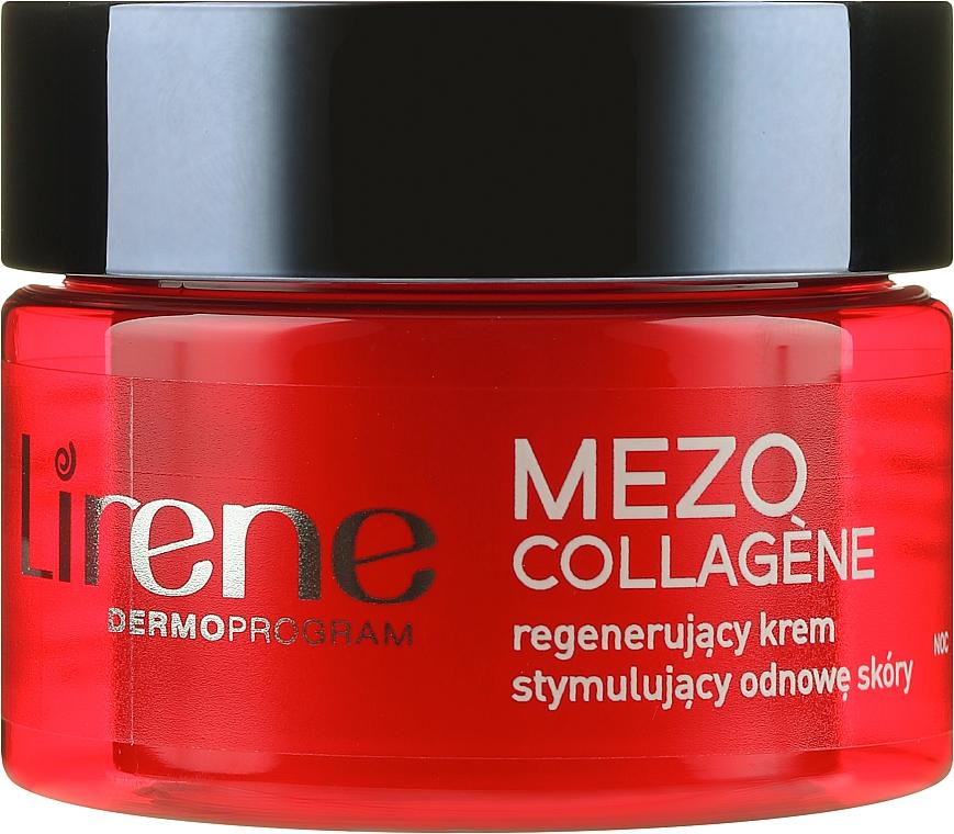 Ночной восстанавливающий крем для лица - Lirene Mezo Collagene — фото N2