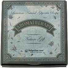 Духи, Парфюмерия, косметика Подарочный набор натурального глицеринового мыла - Bulgarian Rose Aromatherapy Nature Soap