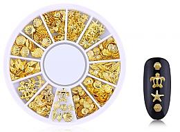 """Духи, Парфюмерия, косметика Украшения для ногтей """"Gold-7"""" - Deni Carte"""